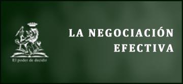 la negociacion efectiva